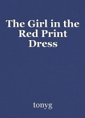 The Girl in the Red Print Dress