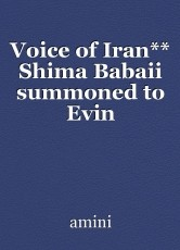 Voice of Iran** Shima Babaii summoned to Evin Prosecutor's