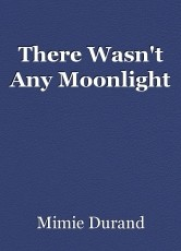 There Wasn't Any Moonlight