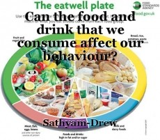 Can the food and drink that we consume affect our behaviour?