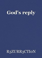 God's reply