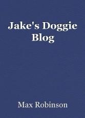 Jake's Doggie Blog