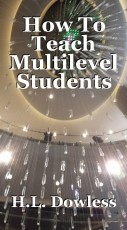 How To Teach Multilevel Students As A Lone instructor