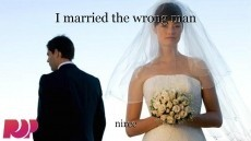 I married the wrong man