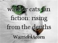 warrior cats fan fiction: rising from the depths #1