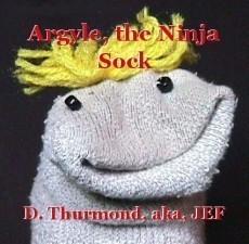 Argyle, the Ninja Sock