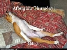 Afterglow Thursday!