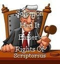 Solomon Had It Easier - Rights Of Passage