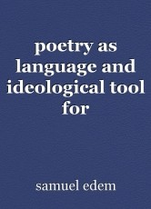 poetry as language and ideological tool for environmental agitation: a stylistic study of tanure ojaide and  benji egede's poetry