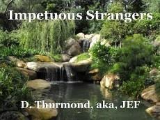 Impetuous Strangers