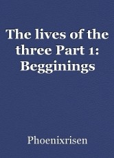 The lives of the three Part 1: Begginings