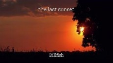 the last sunset