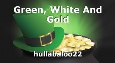 Green, White And Gold