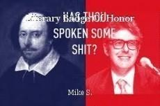 Literary Badge Of Honor