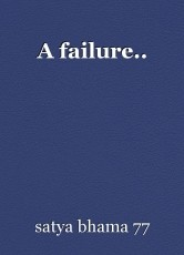 A failure..