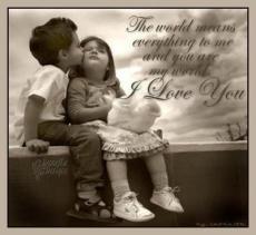 I love You Amor