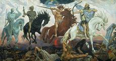 END OF DAYS ( THE FOUR HORSEMAN )
