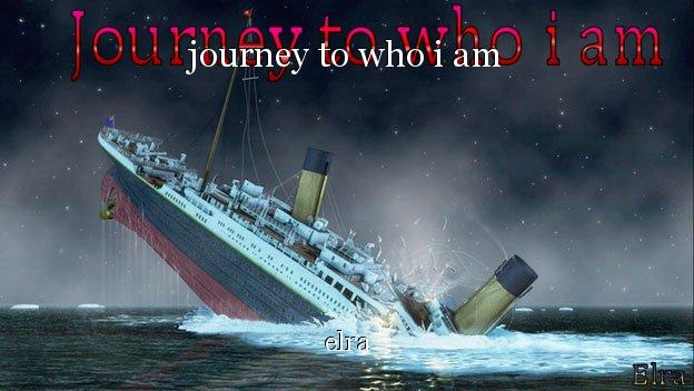the titanic who is to