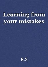 Learning from your mistakes