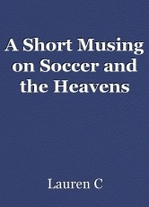 A Short Musing on Soccer and the Heavens