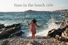 time in the beach side
