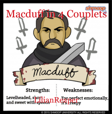 Macduff in 4 Couplets