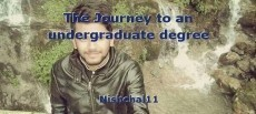 The Journey to an undergraduate degree