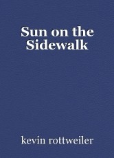 Sun on the Sidewalk