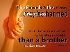 The Friend to the Friendless