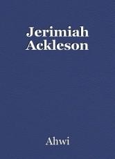 Jerimiah Ackleson