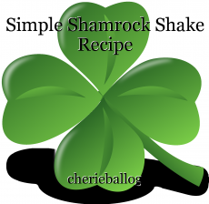 Simple Shamrock Shake Recipe
