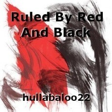 Ruled By Red And Black