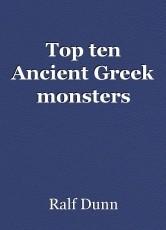 Top ten Ancient Greek monsters