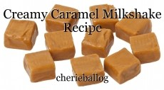 Creamy Caramel Milkshake Recipe