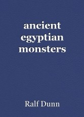 ancient egyptian monsters