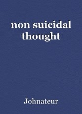 non suicidal thought