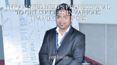 IMRAN SYED HELPS PROFESSIONAL TO GET SUCCESS IN VARIOUS TRANING COURSES
