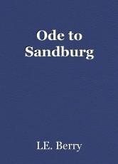 Ode to Sandburg
