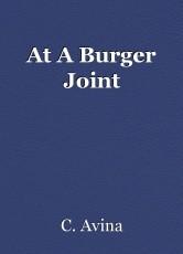 At A Burger Joint
