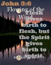 Flowing of the Wind