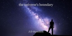 the universe's boundary