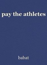 pay the athletes