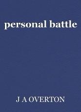 personal battle