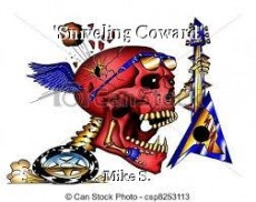'Sniveling Coward'