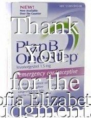 Thank You for the Judgmental Stare: One Gal's Story of Buying Emergency Contraceptives