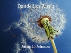 Dandelion Part 2