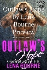 Outlaw's Hope by Lena Bourne Preview