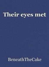Their eyes met