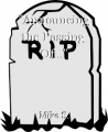 """""""Announcing the Passing Of..."""""""