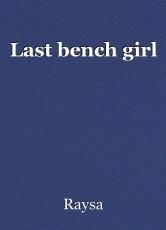 Last bench girl